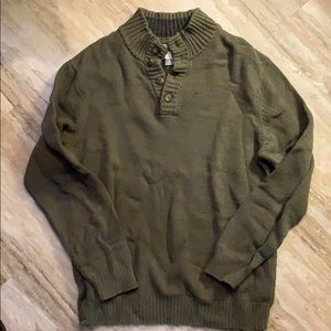 Old Navy Half Button Sweater